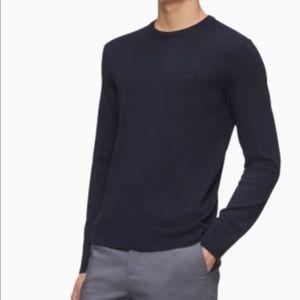 Calvin Klein Merino Crew Neck Sweater Mens Sweater